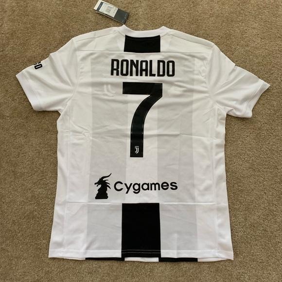 f40eadd2ddf Juventus Home 18 19 Jersey Serie A RONALDO  7